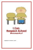 """Social Story- """"I Can Respect School Property"""""""