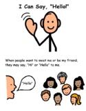 Social Story: I Can Say Hello