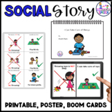 Social Story: I Can Take Care of Things (No Throwing!) wit
