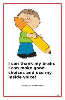 "Social Story- ""I Can Use My Inside Voice"": A Better Behavi"