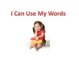 Social Story: I Can Use My Words