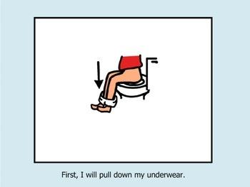 Social Story: I Can Use the Bathroom!