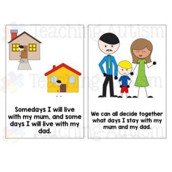 Social Story - I Have Two Homes