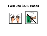 Social Story - I Will Use Safe Hands