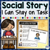 Social Story I can Stay on Task