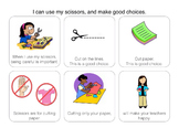 Social Story: I can use my scissors and make good choices