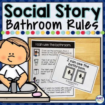 Social Story I can use the bathroom