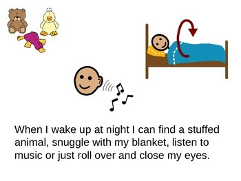 Social Story: I love to sleep
