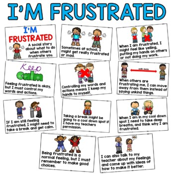 Social Story: I'm Frustrated