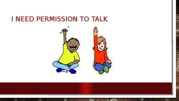 Social Story: I need permission to talk