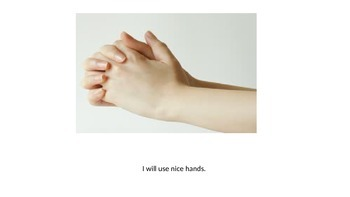 Social Story: I will use nice hands.