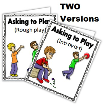 Social Story (Illustrated) - Asking To Play