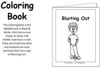 Social Story (Illustrated) - Blurting Out