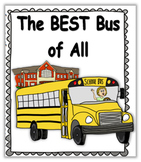 Social Story (Illustrated) - Best Bus of All - female driver