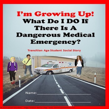 Social Story I'm Growing Up Medical Emergencies CBI SPED/Autism/ELD