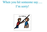 Social Story - I'm Sorry - Autism