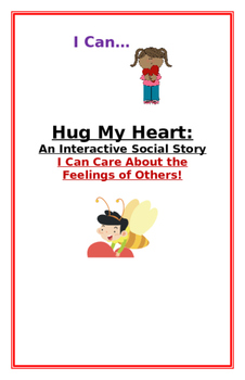 """Social Story-Interactive Style: """"I Can Think About Other's Feelings"""""""