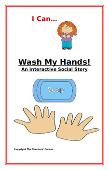 """Social Story-Interactive Style: """"I Can Wash My Hands"""""""