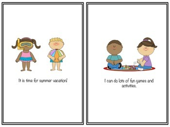 Social Story: It Is Time For Summer Vacation!