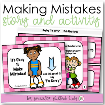 Social Story: It's Okay To Make Mistakes, and it's great t