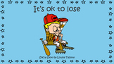 Social Story: It's ok to lose