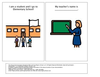 Social Story:  It's OK to have a Substitute Teacher!