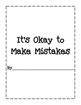 Social Story: It's Okay to Make Mistakes