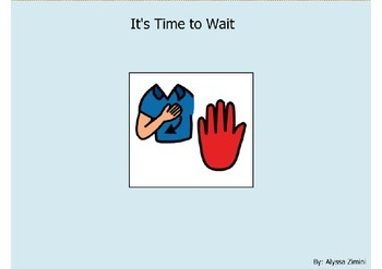 Social Story: It's Time to Wait