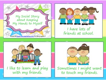 Social Story - Keeping Hands to Ourselves