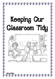 Social Story - Keeping Our Classroom Tidy