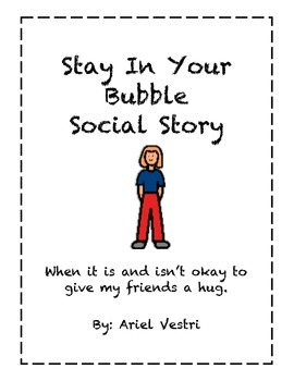Social Story Keeping Your Hands to Yourself