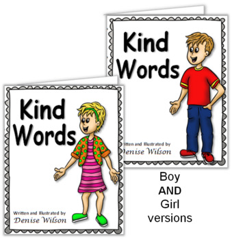 Social Story (Illustrated) - Kind Words