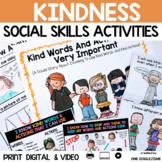 Social Story Kindness Print Digital & Video