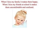 Social Story - Kissing - Autism