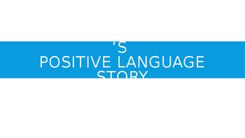 Social Story Language