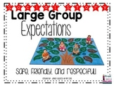 Social Story: Large Group Expectations