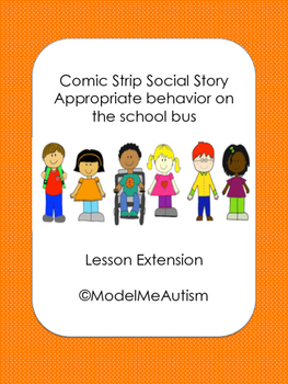 Social Story Lesson Extension