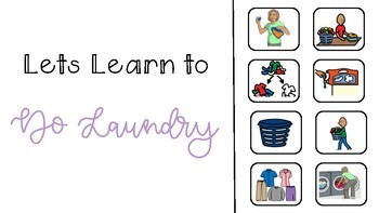 Social Story - Lets Learn to Do Laundry