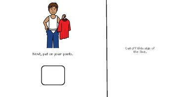 Social Story - Lets Learn to Get Dressed