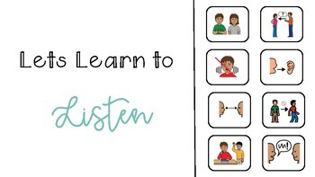 Social Story - Lets Learn to Listen