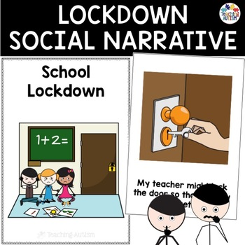 Lockdown Drill Social Narrative By Teaching Autism Tpt
