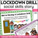 Social Story Lockdown Drill Print Digital Video