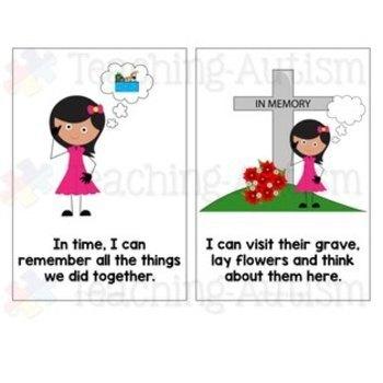 Social Story - Losing Someone - Death