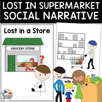 Social Story Lost in a Store