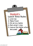 Social Story: Lunch Time