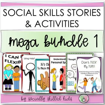 SOCIAL STORY~ Mega 6 Pack! {Set 1}