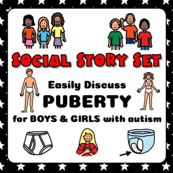 Social Story MEGA Set: G-R-O-W-I-N-G BUNDLE for Autism + Special Needs