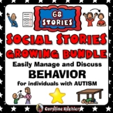 Social Narrative MEGA Set: G-R-O-W-I-N-G BUNDLE for Autism Story Set