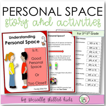 SOCIAL STORY/ACTIVITY: Personal Space {For 3rd-5th Grade o