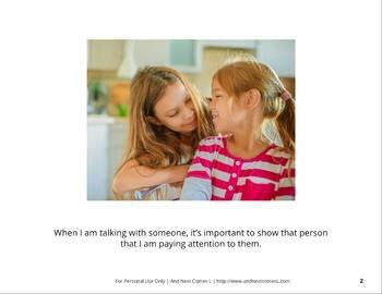 Social Story: Making Eye Contact